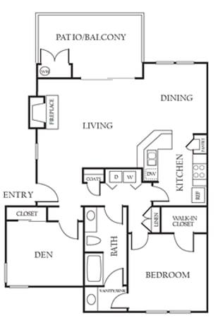 Floor Plan  Alderwood