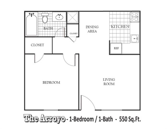 Floor Plan  The Arroyo