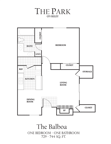 Floor Plan  The Balboa Floorplan - The Park on Riley Apartments, Folsom, CA