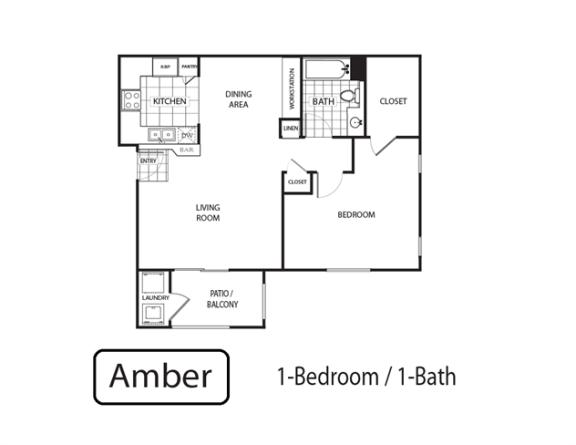 Floor Plan  Amber