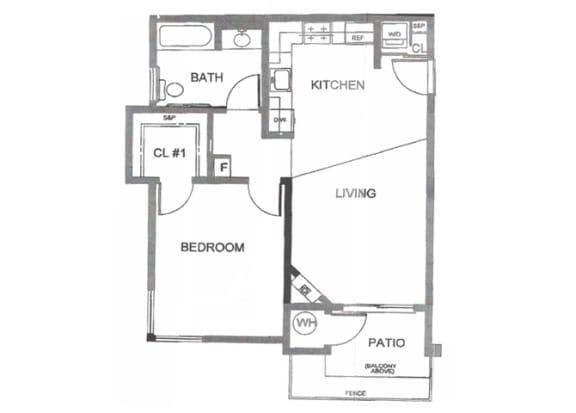 1 2 Bed Apartments Creekside Village