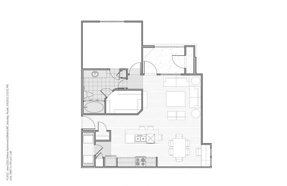 Floor Plan  Floor plan at Faudree Ranch, Odessa, TX