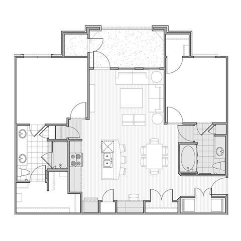 Floor Plan  Floor plan at Faudree Ranch, 2741 Faudree Road, TX 79765