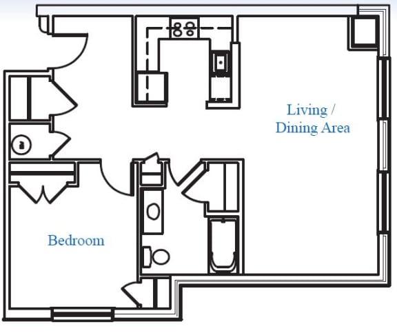 Floor Plan  1B