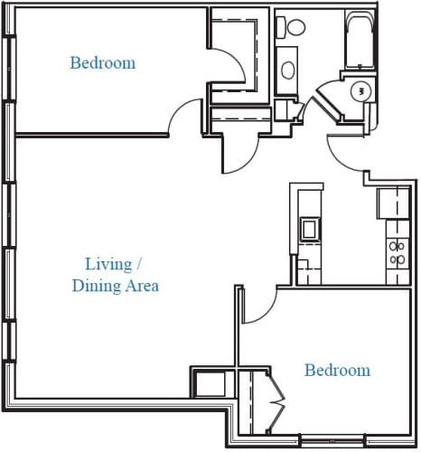 Floor Plan  2.1C