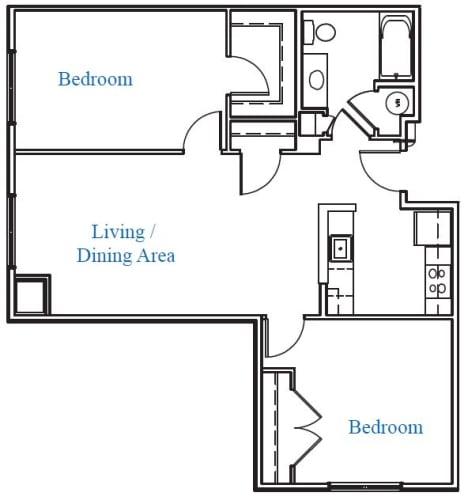 Floor Plan  2.1E