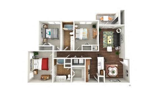 Floor Plan  C1 floor plan
