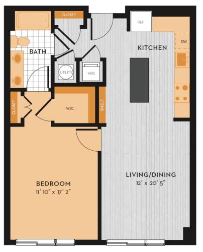 Floor Plan  A1G