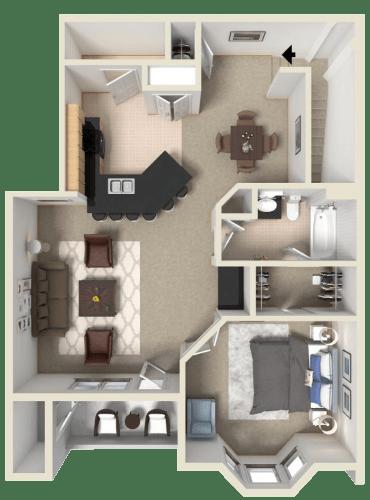 Floor Plan  Brunello