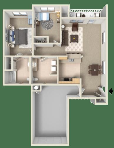 Floor Plan  Chablis