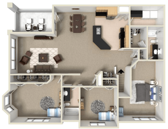 Floor Plan  Dolcetto