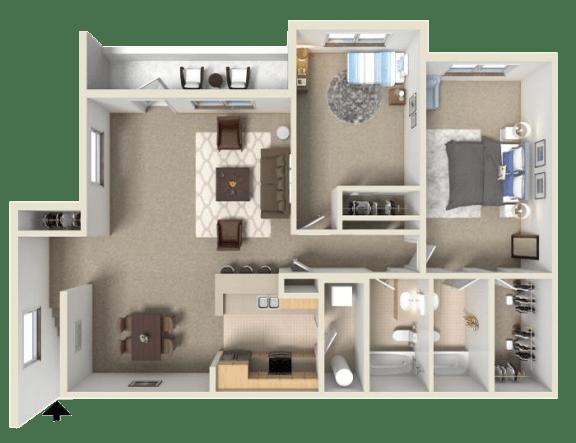 Floor Plan  Merlot