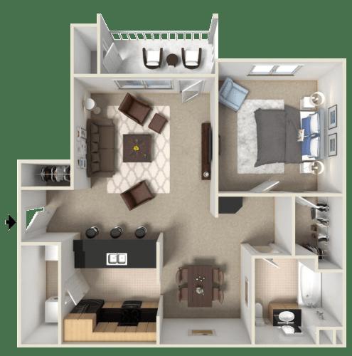 Floor Plan  San Joaquin