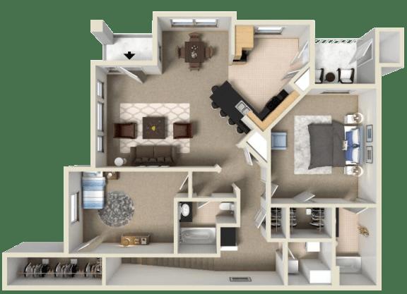 Floor Plan  St. Laurent