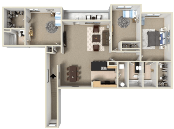 Floor Plan  Zinfandel
