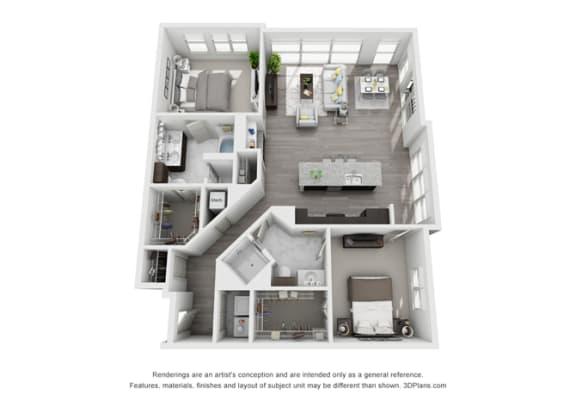 Floor Plan  Q