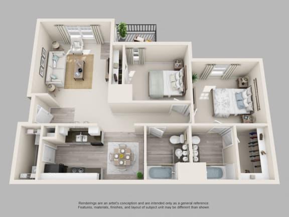 Floor Plan  Bennett