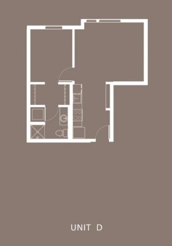 Floor Plan  The Century Floor Plan Unit D