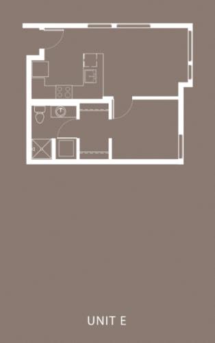 Floor Plan  The Century Floor Plan Unit E