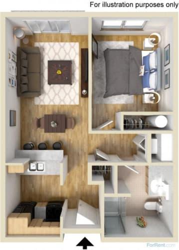 Floor Plan  20 Pettygrove | Upshur Floor Plan