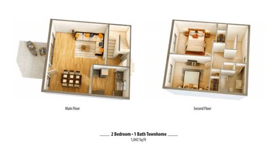 Floor Plan  2x1.5