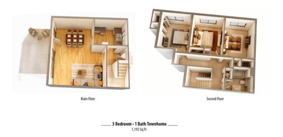 Floor Plan  3x1