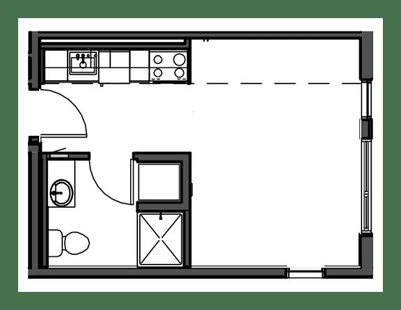Floor Plan  Studio S