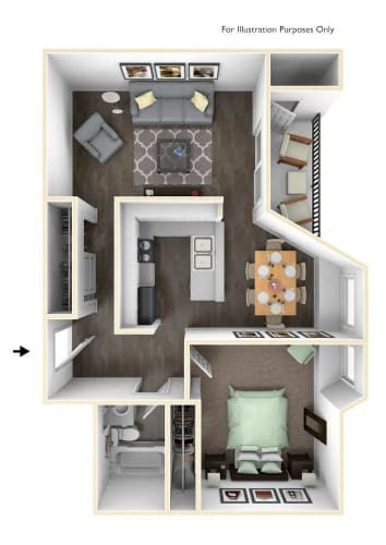 Floor Plan  Clackamas Classic