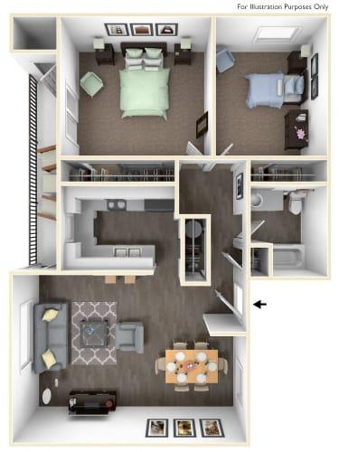 Floor Plan  Columbia Classic