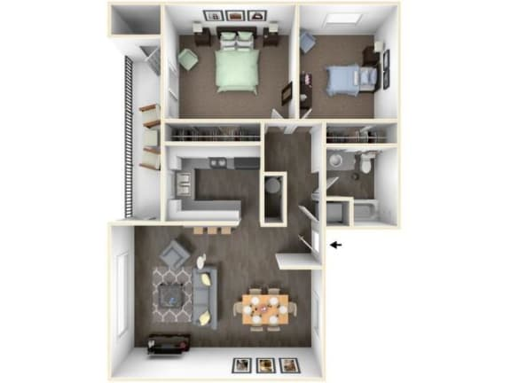 Floor Plan  Columbia Premier