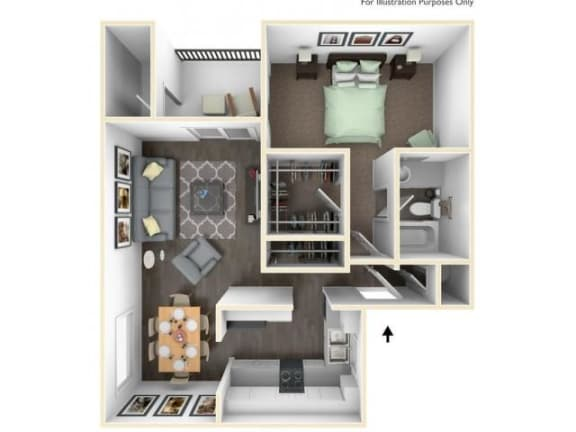 Floor Plan  Multnomah