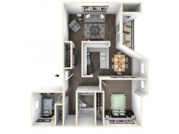 Floor Plan  Willamette