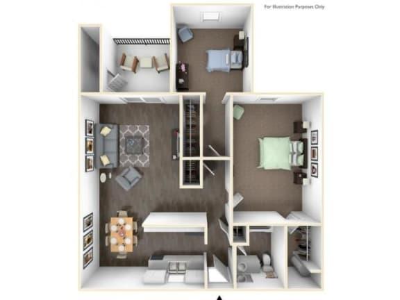 Floor Plan  Yamhill