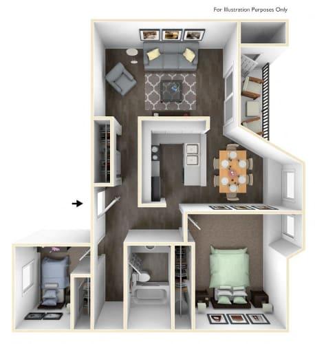 Floor Plan  Willamette Classic