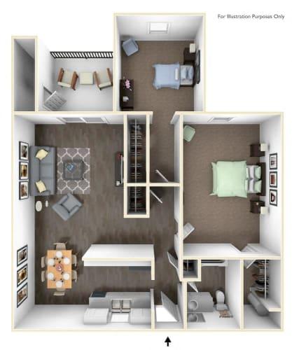 Floor Plan  Yamhill Classic