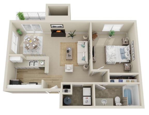 Floor Plan  Spring Arbor
