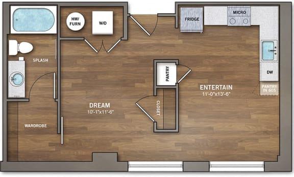 Floor Plan  A1-0 Floor Plan