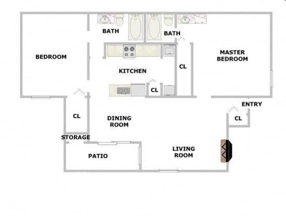 Floor Plan  Springwood