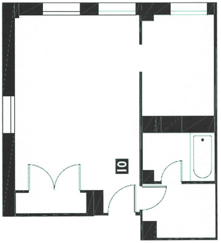 Floor Plan  Studio_1