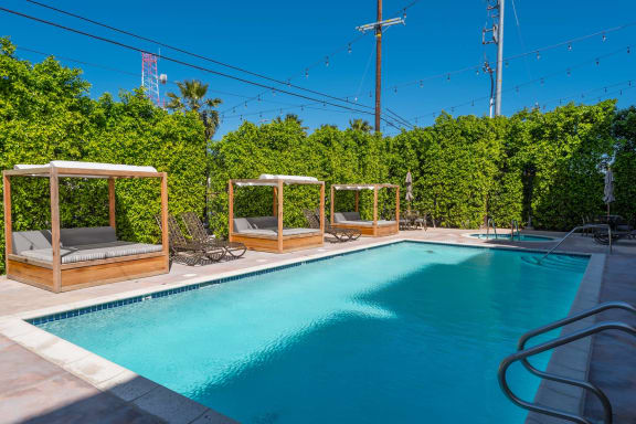 verandas pool scenic view