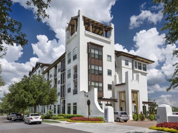 Unique Hotel Architecture at Azul Baldwin Park, Orlando, FL