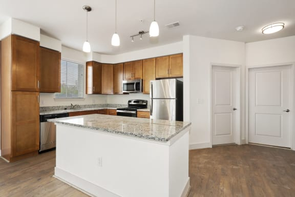 B2B kitchen with electric appliances at Avenue Grand, White Marsh, 21236