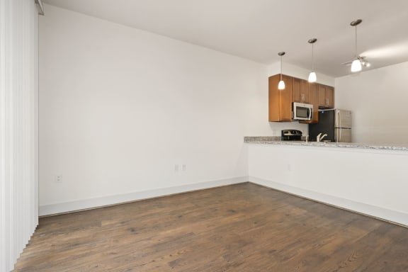 A7AD Living Room cum Kitchen view at Avenue Grand, Maryland