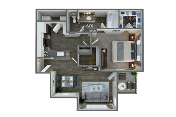 Floor Plan at Vista Grove, Mesa, AZ