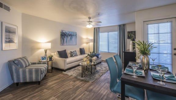 Spacious Living Room With Natural Light,at San Valiente, Phoenix, AZ