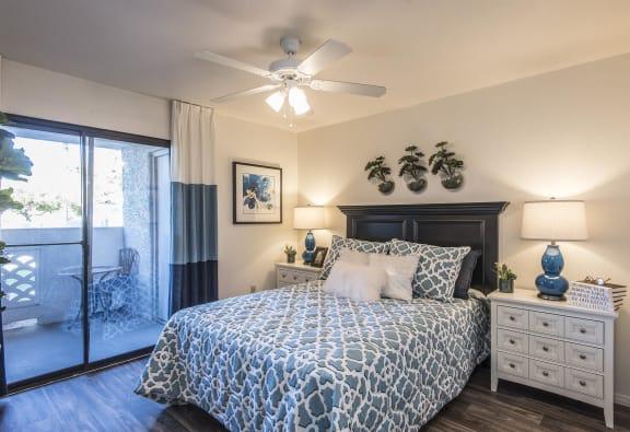 Comfortable Bedroom With Large Window,at San Valiente, Arizona