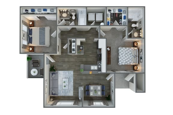 Floor Plan at Vista Grove, Mesa,Arizona