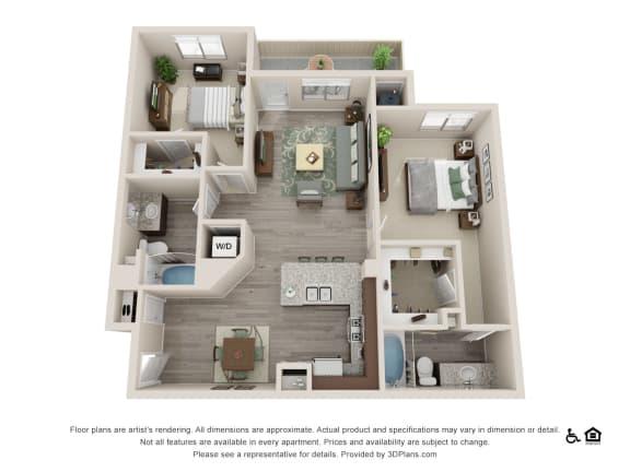 Floor Plan  Rockrimmon Thrive Floorplan
