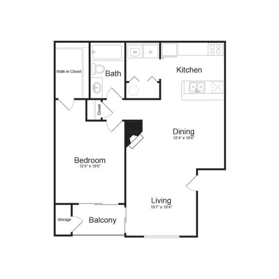 Floor Plan  A Modern