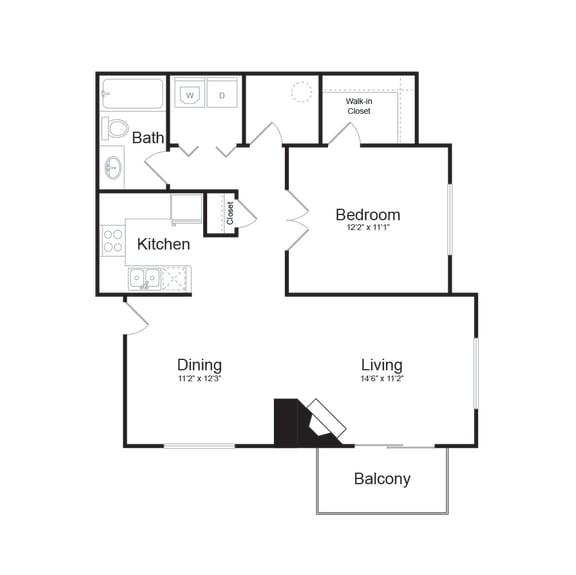 Floor Plan  C Modern